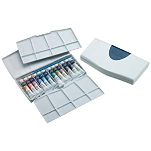 Winsor & Newton Cotman Water Color Painting PLUS 12-Tube Set, 8ml