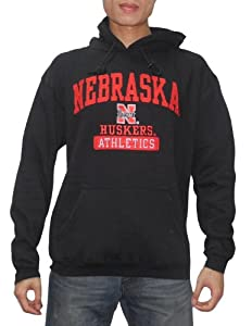 NCAA Nebraska Cornhuskers Mens Warm Athletic Pullover Hoodie Sweatshirt by NCAA