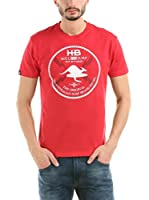 Hot Buttered Camiseta Manga Corta Soul Surf (Rojo)
