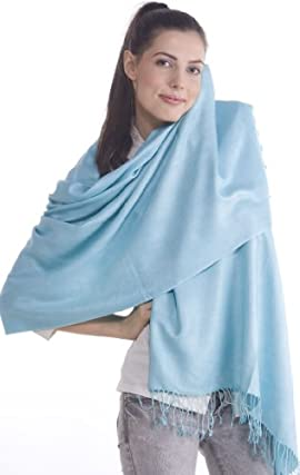 Cashmere Pashmina Shawl Stole Wrap Bandana Scarf Clearance Sale Size 28x78 Inches