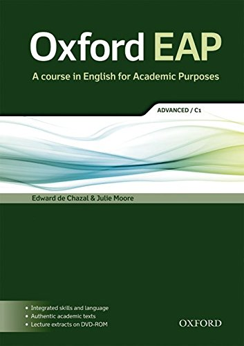 Oxford EAP: Oxford English for Academic Purposes Advanced: Student's Book DVD Pack
