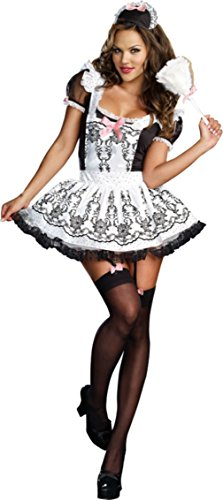 Dreamgirl Womens Uniforms Maid To Order Theme Party Fancy Halloween Costume