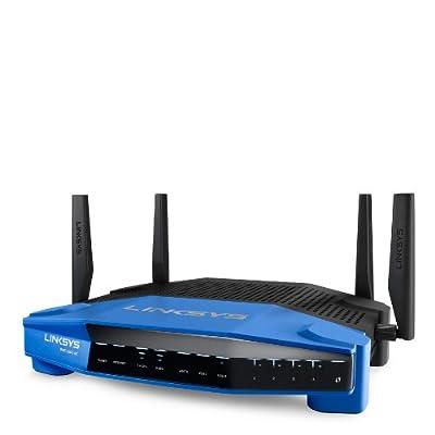 Linksys WRT1900AC Dual Band Smart Wi-Fi Wireless AC Router (2.4 + 5GHz) - (Certified Refurbished)