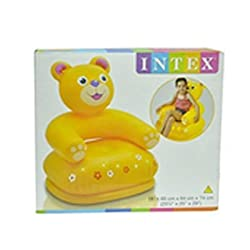 Intex Inflatable Animal Chair For Kids (Assorted) (Age: 3-8 Years)