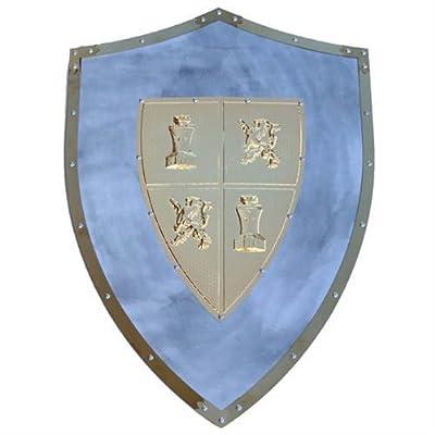 Medieval Ei Cid Knights Templar Lord Shield Wall Hanging Display