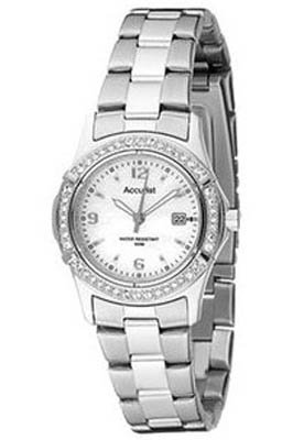 Accurist Ladies LB1540P &#8211; Stainless Steel Bracelet Watch