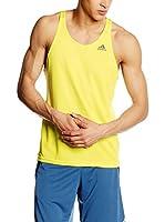 adidas Camiseta Tirantes Sn Singlet M (Amarillo)