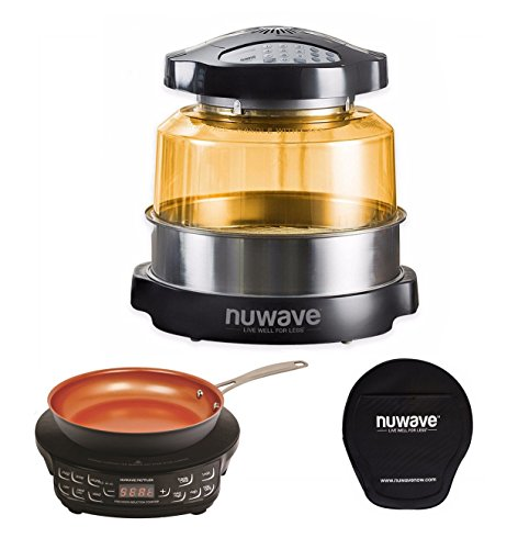 NuWave Oven Pro Plus & PIC Compact Precision Induction Cooktop with 9