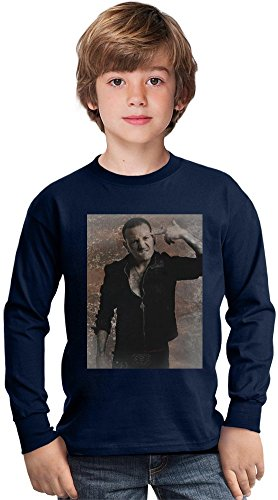 Linkin Park Chester Bennington Amazing Kids Long Sleeved Shirt by True Fans Apparel - 100% Cotton- Ideal For Active Boys-Casual Wear - Perfect For A Present Unisex 12 - 13 years