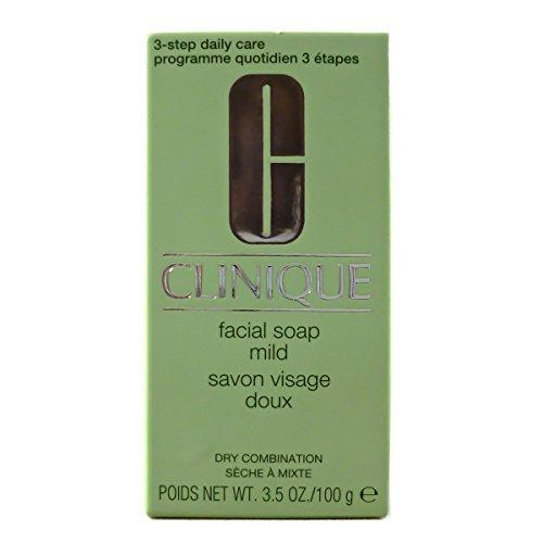 Clinique Facial Soap Without Dish Mild sapone per il viso senza portasapone per pelle tipo 2 da arida a normale 100 gr