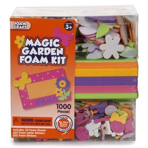 Darice Foam Kit, Magic Garden
