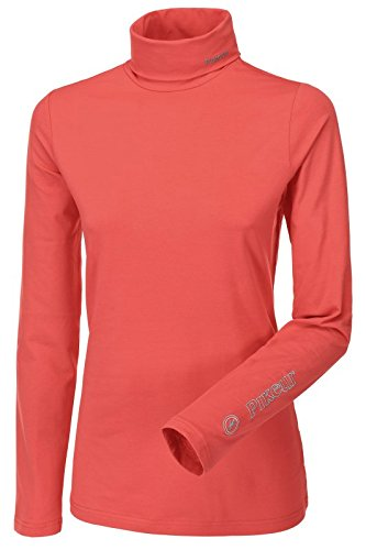 pikeur-sina-womens-long-sleeved-roll-neck-coral-extra-small
