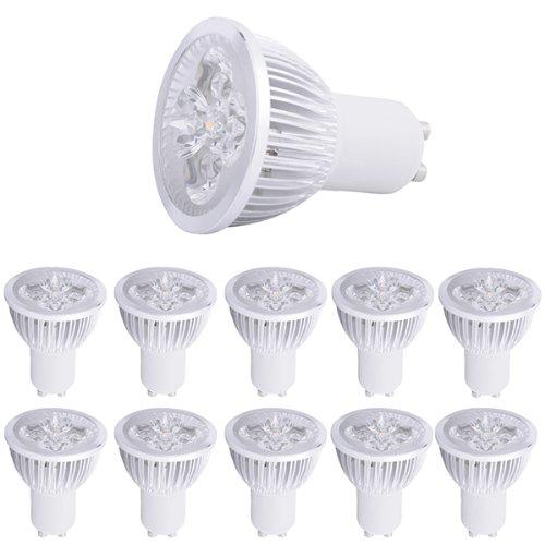 10 Pcs Energy Saving Light High Power 8W Gu10 Led Warm White Light Bulb