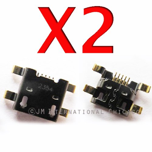 Epartsolution- 2 X Htc One S Pj40110 Charging Port Dock Connector Usb Port Repair Part Usa Seller