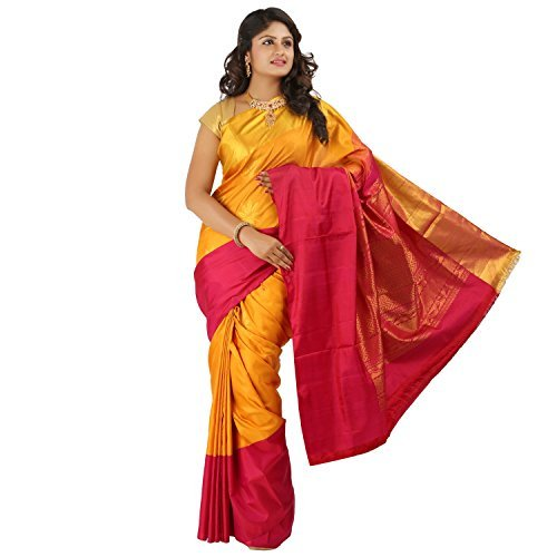 PSSB Soft Silk Sarees Handloom Double warp Pure Silk Jari Putta Rich pallu contrast Border