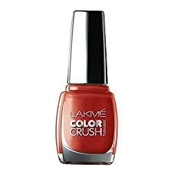 Lakme True Wear Color Crush Nail Color, Shade 62, 9ml