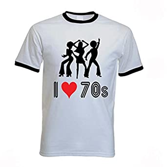 Tribal T-Shirts Men's I Love The 70s T-Shirt