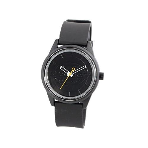 (ディッキーズ) Dickies 腕時計 CITIZEN Q×Q Smile Solar Collabo Watch 40mm メンズ レディース キッズ レジン×ポリウレタン dq0001 ブランド (オールブラック) [並行輸入品]