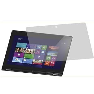 2x Entspiegelnde Displayschutzfolie von 4ProTec für Lenovo IdeaPad Yoga 13 - Nahezu blendfreie Antireflexfolie