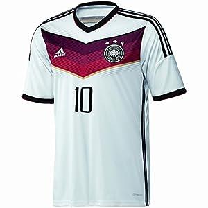 adidas Trikot DFB Fanshop Deutschland Home Podolski, Weiß, XL, D04255