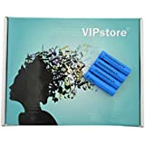 VIPstore® 4 Pcs TR10440 600mAh 3.7V Rechargeable Lithium Batteries (Blue)