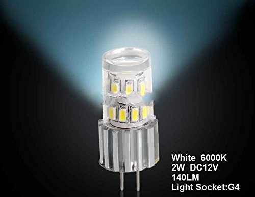 Generic G4 2W 24 X 3014Smd White Car Led Light