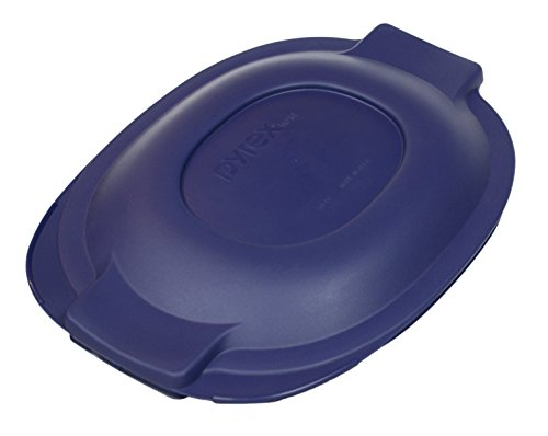 Pyrex 702-PC Blue 2 Quart Glass Oval Roaster Lid (Pyrex 2 Qt Oval Roaster compare prices)