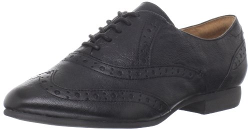 indigo by Clarks Women's Charlie Brogue Oxford,Black,8.5 M US