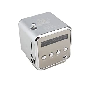 Vakind Mini Portable Sound Speaker MP3 Player Micro TF SD Card FM Radio Stereo With USB