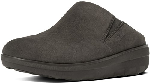 FITFLOP LOAF SUEDE CLOGS B80240 corda marrone ciabatte donna comfort 40