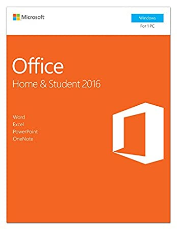 Microsoft Office Home and Student 2016 | 1 user, PC Key Card
