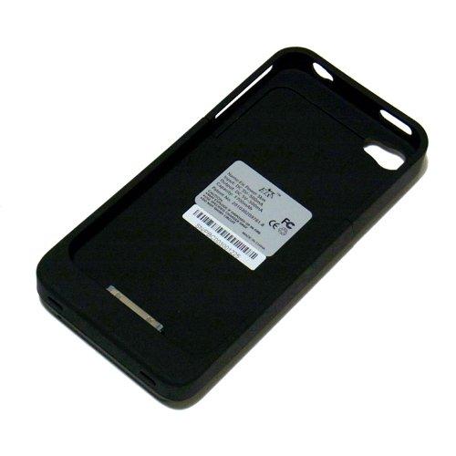 Eix Power Skin for iPhone 4 (容量1700mAh) 薄型バッテリーケース ★1年保証★                             ★Apple社 認証★ 画面用保護シート付 クリーニング・クロス付