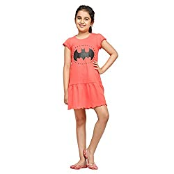 Batman Red Tunic For Girls