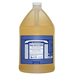 Dr. Bronner\'s Pure-Castile Liquid Soap - Peppermint, 1 Gallon