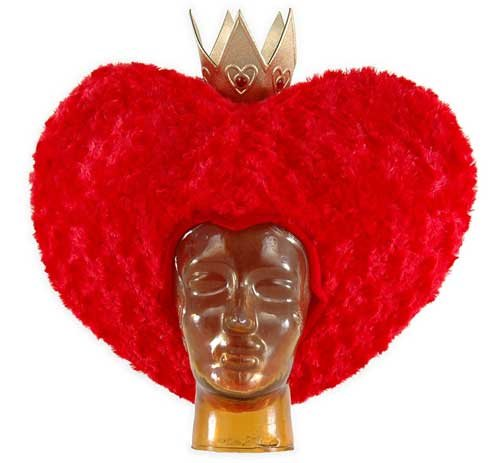 Red Queen of Hearts Wig Disney Licensed Queen Of Hearts Costume Wig Elope 2515