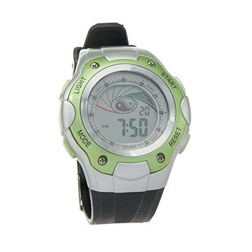 8Years - 1 Digitaluhr Armbanduhr Watch Stoppuhr Wasserdicht Gruen