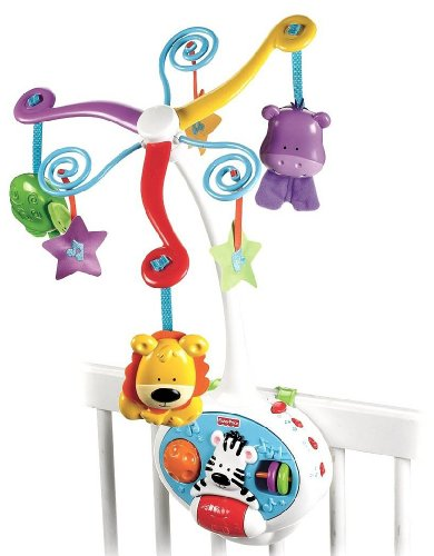 Fisher-Price Brilliant Basics 2-in-1 Activity Friends Mobile (Discontinued by Manufacturer) - 1