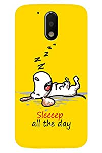 Latest Designer New Premium Printed Back Case Cover for Moto G4 Plus(4th Gen) By PLESPEY