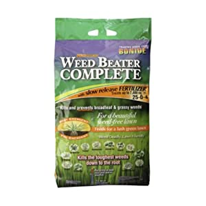 Bonide 60485 Weed Beater Complete with Fertilizer, 15-Pound