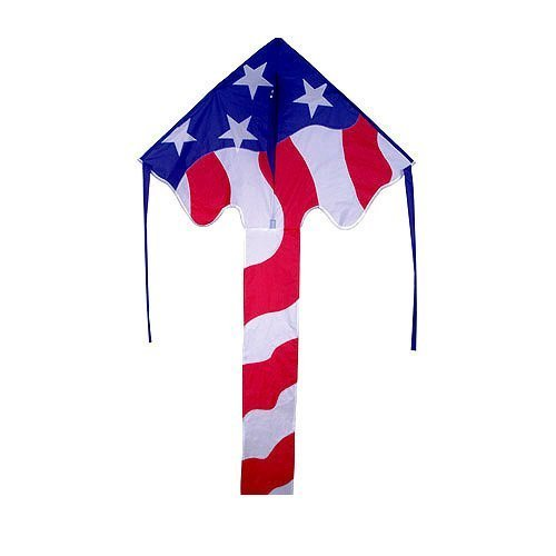 Kite - Large Easy Flyer - Patriotic Flag (46