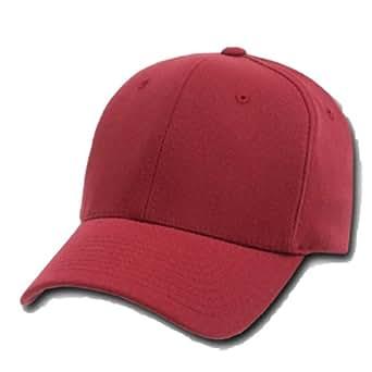 maroon ultra fit flex baseball cap caps hat