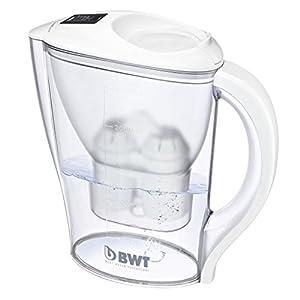 BWT 815971 Tischwasserfilter Initium 2.5 L mit elektronischem Timer, weiß