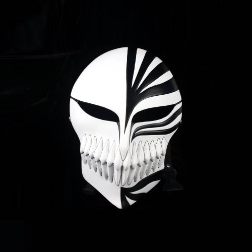 Venetian Mardi Super Bleach Kurosaki Ichigo Black Hollow Mask - Cosplaywho