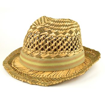 Dpc global straws fedora hat