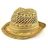Dpc global straws fedora hat