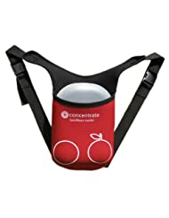 Concentrate - Lunch Box Food for Thought and Rucksack Cooler Bag Red