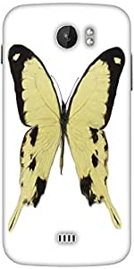 Snoogg Digital Painting Of A Butterfly Designer Protective Back Case Cover For Micromax A110