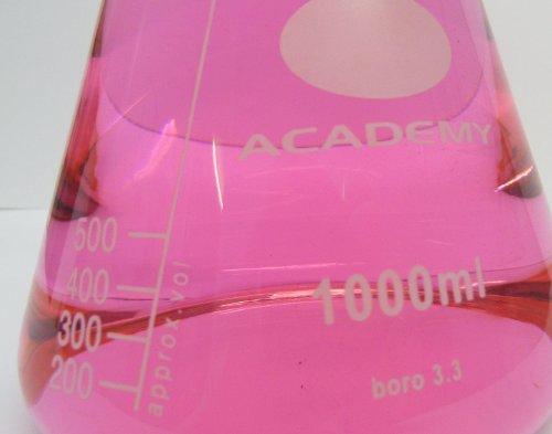 Academy Erlenmeyer en verre borosilicate 1l
