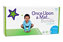 Kids Yoga DVD, Water Bottle, and Yoga Mat - Once Upon a Mat Bundle