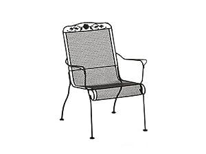 Windflower Mesh Stackable High Back Lounge Chair Finish: Hazelnut